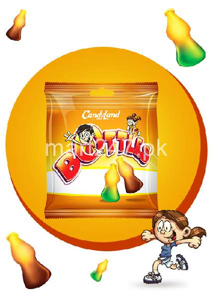 Candy Land Jelly Bottles 1 Pcs