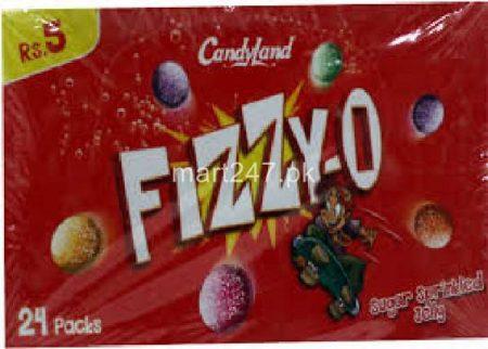 Candy Land Fizzy Jelly O 24 Pcs