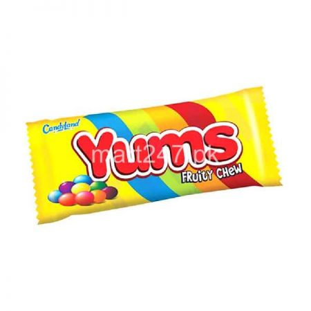 Candy Land Yums Fruity Chew 1 Piece 30 Grams