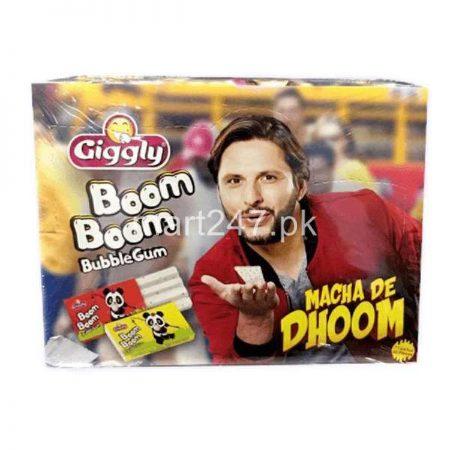 Giggly Boom Boom Bubble Gum 36 Pcs