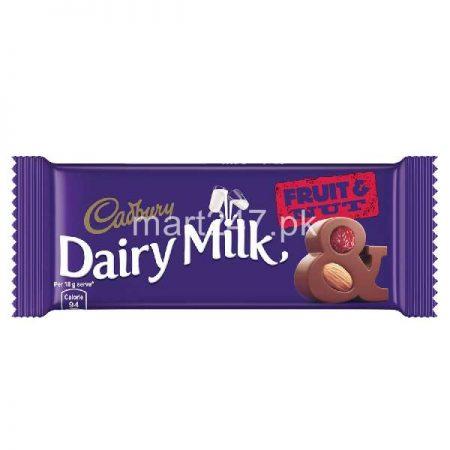 Dairy Milk Fruit And Nut