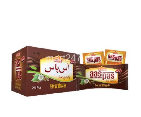 Aas Pas Chocolate Pan Masala 48 Pcs