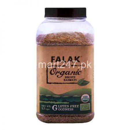 Falak Organic Brown Rice 1.5 Kg