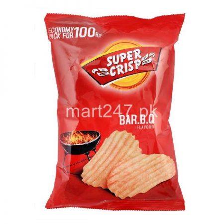 Super Crisp B.B.Q Crinkled 24 Grams Party Pack