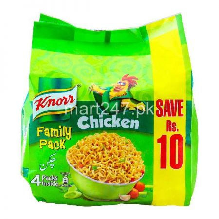 Knorr Noodles Chicken Family Pack 4 pcs