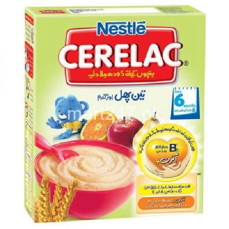 Nestle Cerelac 3 Fruit & Wheat 175 G