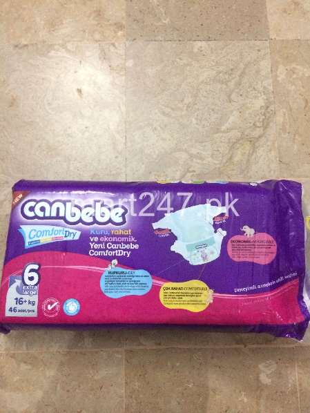 Canbebe Baby Diaperss Extra Large Size 6 (5 Pcs)