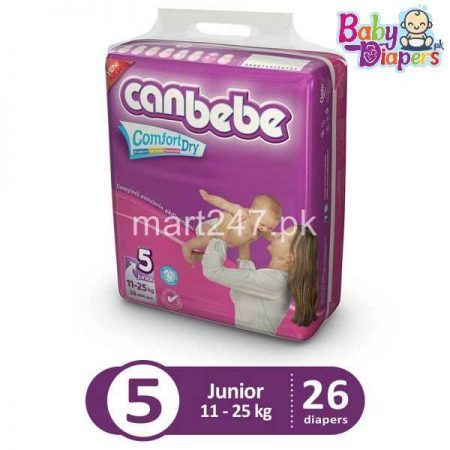 Canbebe Baby Diaperss Junior Size 5 (26 Pcs)