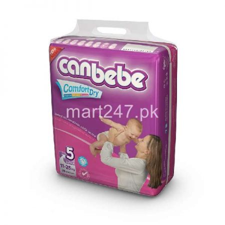 Canbebe Baby Diaperss Junior Size 5 (6 Pcs)