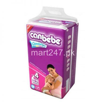 Canbebe Baby Diaperss Maxi Size 4 (7 Pcs)