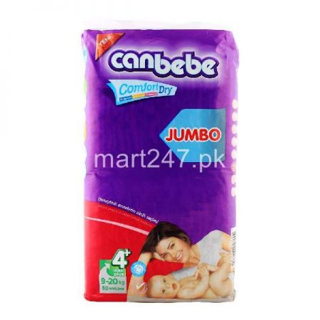Canbebe Baby Diaperss Maxi Plus Size 4+ (50 Pcs)