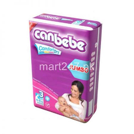 Canbebe Baby Diaperss Midi Size 3 (8 Pcs)