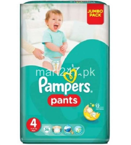 Pampers Baby Pants 4 (56 Pcs)