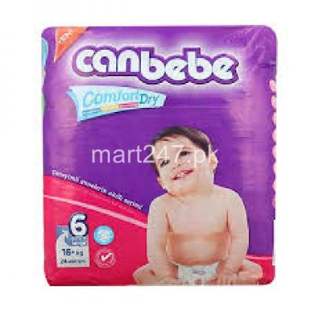 Canbebe Baby Diaperss Extra Large Size 6 (32 Pcs)