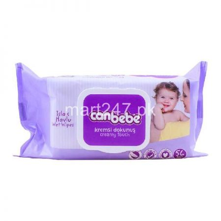 Canbebe Extra Soft Wipes 56 Pcs