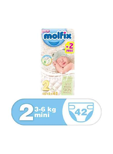 Molfix Baby Diaperss Mini Size 2 42 Pcs