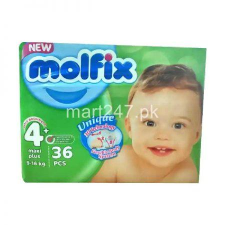 Molfix Baby Diaperss Maxi Size 4 34 Pcs