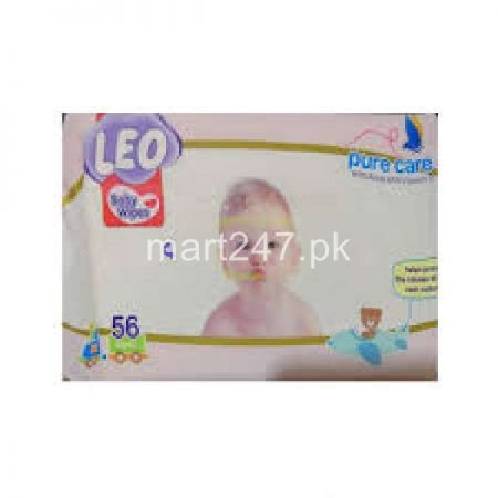 Leo Baby Wipes Pure Care 72 Pcs