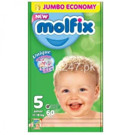 Molfix Diaperss Size 5 60 Pcs