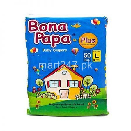 Bona Papa Diaperss Size Large 50 Pcs