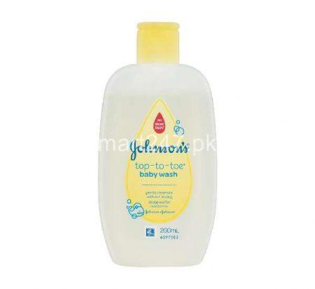Johnson's Top to Toe baby wash 200 ml