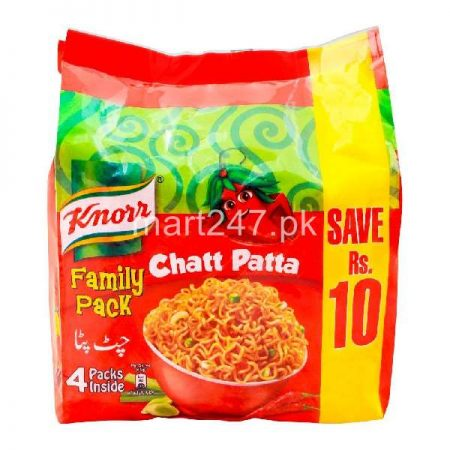 Knorr Family Pack Chatt Patta Noodles 4 Pack
