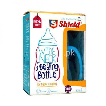 Shield Wide Neck Feeding Bottle 12 Mplus 9 Oz - 260 Ml