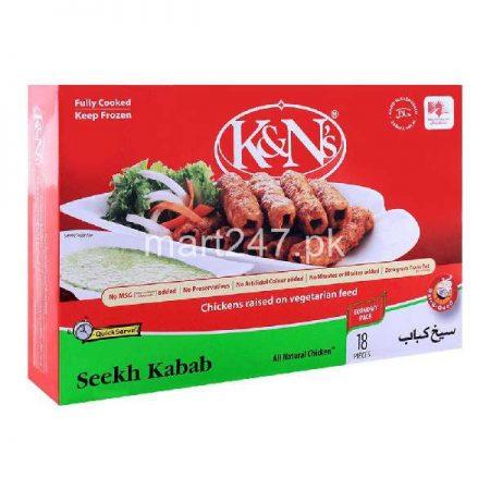 K&N'S Seekh Kabab 18 Pieces 540 G