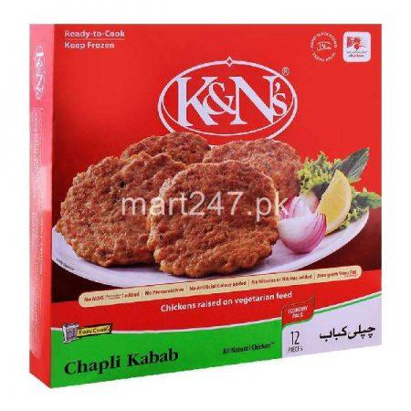 K&N'S Chapli Kabab 12 Pieces 888 G