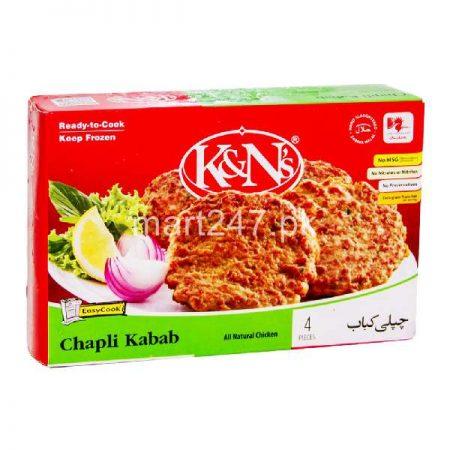 K&N'S Chapli Kabab 4 Pieces 296 G