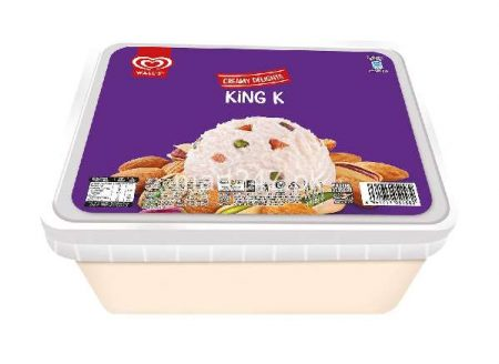 Walls Creamy Delights Khoya Kulfa Tub 1.4 L