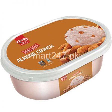 Walls Almond Crunch 800 ML Tub