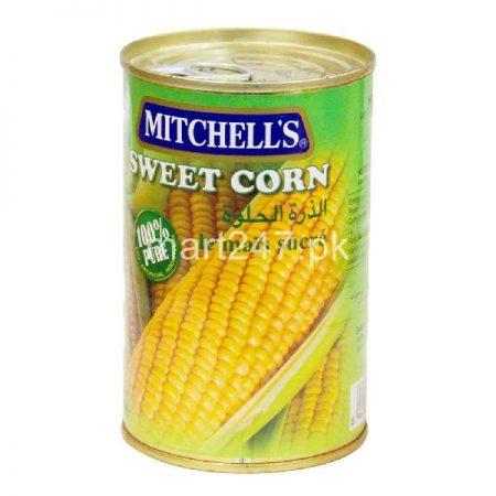 Mitchell's Sweet Corn 450 G