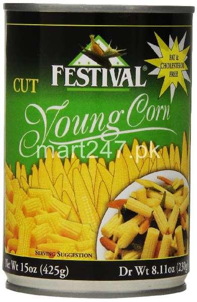 Festival Baby Corn 400 G