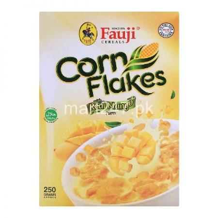 Fauji Corn Flakes Real Mango 250 Grams