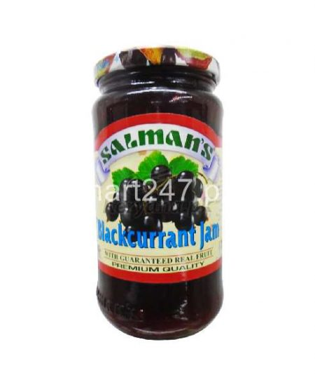 Salman Blackurrant Jam 450 G