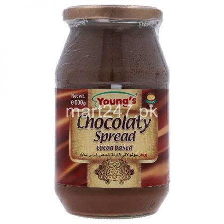 Youngs Chocolate Spread 600 G