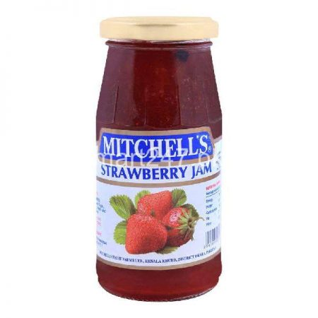 Mitchell's Strawberry Jam 340 Grams