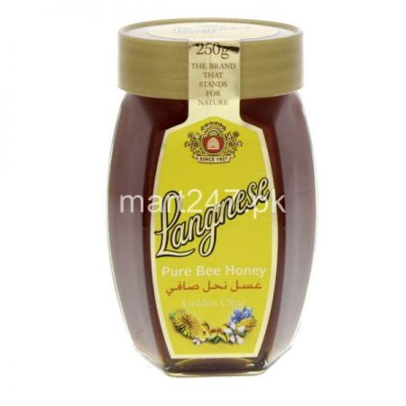 Langnese Pure Bee Honey 250 G