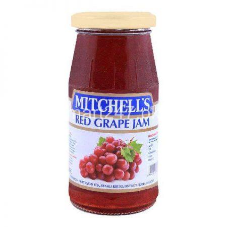 Mitchell's Red Grape Jam 340 G
