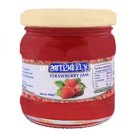 Mitchell's Strawberry Jam 200 G