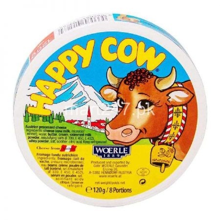 Happy Cow Cheese 8 Portions 120 G