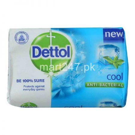 Dettol New Cool Antibecterial Soap 65 G