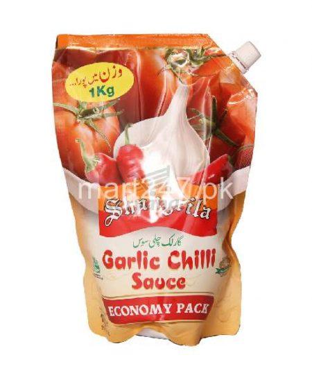 Shangrila Chilli Garlic Sauce Pouch 1Kg