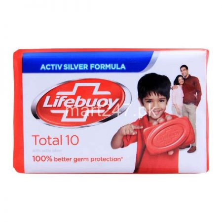 Lifebuoy Soap 115 G Total 10