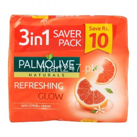 Palmolive Refreshing Soap 115 G x 3 Pcs
