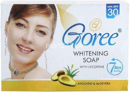 gori avacado & aloevera soap 100 g