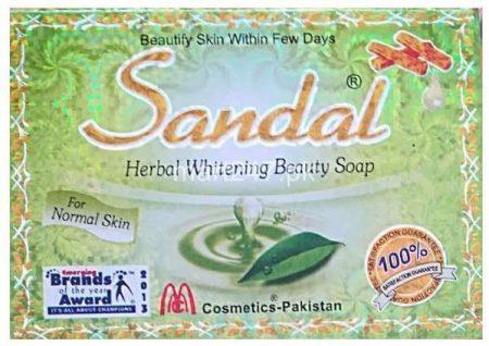 sandal herbal whitening soap