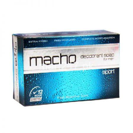 Macho Deodorant Soap Sport 110 G