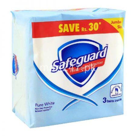 Safeguard Pure White 145 G X 3